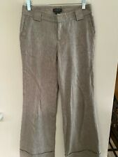 Sale Women`s Pants Size 2 Beige Flare Banana Republic Straight Chino Pocket