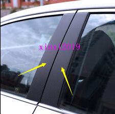 10x carbon fiber Window Pillars Post stickers Cover Trim  For Toyota Camry 2018