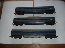 TRIANG TRANSCONTINENTAL 3 CARS BAGGAGE CAR VISTADOME 10724 CARRIAGE IN USED !!!