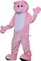 Morris Costumes Boys Plush Pig Mascot Hidden Complete Outfit One Size FM67722