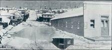 1982 Press Photo Cherry Street Scene in 1880 Seattle Washington