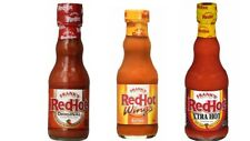 FRANKS REDHOT - Original, Wings and Xtra Hot - Chilli Sauce Trio