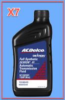 7 Quart GMC OEM Automatic Transmission Fluid AcDelco Full Synthetic Dextron VI