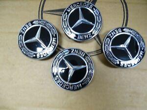 original Mercedes Nabendeckel Felgen Kappen Loorbeerkranz W204 W213 W212