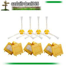 6x Hepa Filters & 4x sided brushes Kit for iRobot Roomba 760 770 780 790