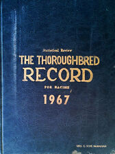 STASTICAL REVIEW - THOROUGHBRED RECORD FOR RACING 1967 - 936 PAGE HARDBACK