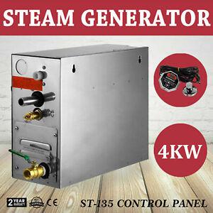 Dampfgenerator 4KW 220V Sauna SPA Dampferzeuger Dampfgenerator Dampfgerät