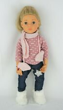 """Gotz Hannah cozy winter outfit fits other skinny 18"""" dolls"""