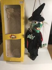 Vintage Pelham Puppets SL Wicked Witch Within Its Original Box