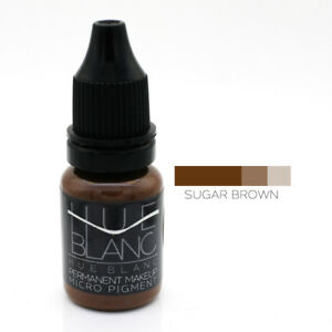 Permanent Make Up Micro Pigment Farbe Microblading Tattoo Ink Sugar Brown 10ml
