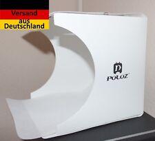 Neues Angebot PULUZ Produktfotografie Fotobox Lightbox 1*LED Ausleuchtung + 6 Farben