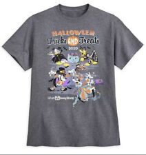 Disney Tricks And Treat Shirt 2020 Mickey And Friends Men's XL Halloween