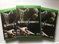 Mortal Kombat X (Microsoft Xbox One, 2015) NEW