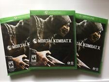 Mortal Kombat X (Microsoft Xbox One, 2015) NEW