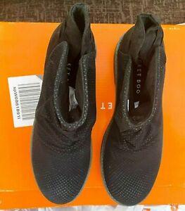 Rocket Dog Tami Women's Black Scrunched Ankle Boot Bootie Size 3 UK 36 EU