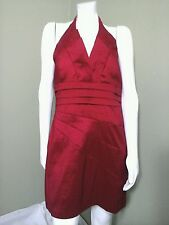 SNAP Red Formal Halter Dress ~ Size XL