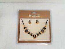 Handmade Terramart Bhoomi Terracotta Necklace & Earrings IOB #TMTN0672