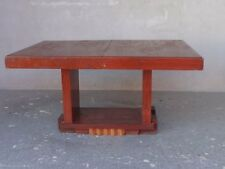 table en acajou style Art déco cubiste