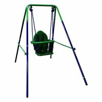 ALEKO Toddler Baby Swing Portable Indoor Outdoor Folding Safety Playground Chair