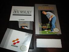 Jack Nicklaus  Championship Golf (Nintendo NES, 1990) COMPLETE