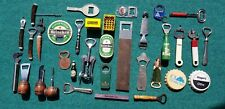 MAN CAVE Lot of 34 Vintage Handheld Openers Much Dutch  Beer -Heineken Grolsch