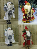 Large Luxury Father Christmas Santa Claus Ornament Xmas Decoration Indoor Decor