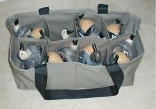 2 ~ 8 Pocket Custom Decoy Bags for Teal, Bufflehead, Wood Duck & Smaller Decoys