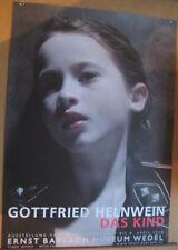 Gottfried Helnwein póster cartel original firmado signed Autograph firma