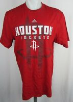 Houston Rockets Men's Adidas Screen Printed Graphic T-Shirt