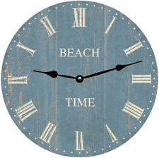 Nautical Beach Time Clock-Beach Clock