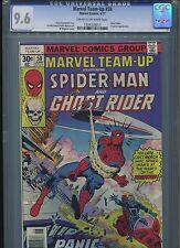 Marvel Team-Up #58 CGC 9.6 (1977) Spider-Man and Ghost Rider Chris Claremont