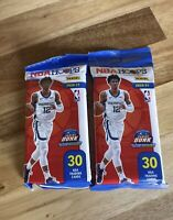 2020-2021 Panini NBA HOOPS Basketball 30 Card Cello Fat Pack 2 Pack Lot 🔥HOT🔥
