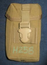 SET OF 2 Military Surplus night vision pouch EX condition coyote brown pouch