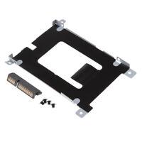For Dell Latitude E5420 E5520 SATA Hard Drive HDD Caddy+HDD Connector D80V4