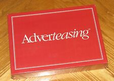 vtg 1989 Cadaco - Adverteasing Game of Slogans Commercials and Jingles - Sealed