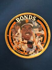 SPORTS IMPRESSIONS COLLECTOR PLATE #1160-02 BARRY BONDS BASEBALL'S BEST  NIB