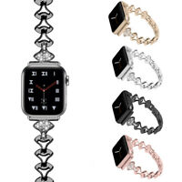 38/42/40/44mm Women Bracelet Band Strap for Apple Watch Series 6 5 4 3 iWatch SE
