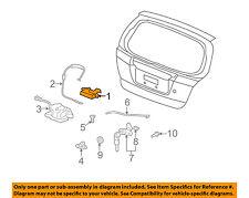 HONDA OEM 07-13 Fit Liftgate Tailgate Hatch-Handle 74810S6A003