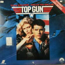 Top Gun 1986 Tom Cruise Kelly McGillis Jet Combat Action Movie Video Laserdisc