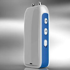 Personal Defense Stun Gun 9500KV and Bright LED Torch, White&Blue.Free Shipping.