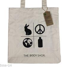 The Body Shop Jutebeutel Baumwolltasche Tasche Stofftasche Lange Hänkel NEU