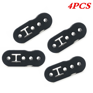 4PCS 4 Holes Muffler Hanger Insulator Lengthened Fit for Car Exhaust Tail Pipe