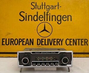 "Becker Europa II Stereo ""6 Buttons Rare"" Mercedes Benz 107 114 115 116 123 Coups"
