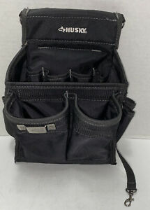 Husky 12 inch Open Tool Tote Utility Pouch