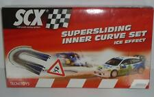 SCX 1/32 Scale Super Sliding Inner Curve Ice Effect Slot Car Track Set