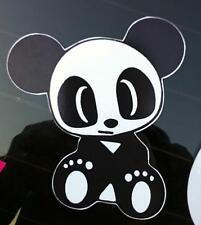 Carino Panda VINILE PARAURTI Bastoncini per Laptop Tablet finestra porta Decalcomania Adesivo Colore