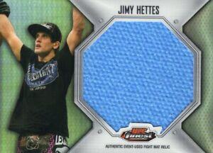 Jimy Hettes 2012 UFC Finest Jumbo Mat Relic