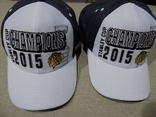 NHL Chicago Blackhawks Stanley Cup Champions Hat Cap Reebok Locker Room