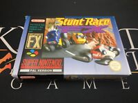Stunt Race FX - Super Nintendo Entertainment System (TESTED) UK PAL