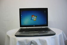"Laptop HP EliteBook 2560P 12.5"" i5-2520M 4 GB 250 GB WEBCAM Windows 7 Batteria Nuovo"